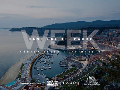 Cantiere del Pardo Week, al via a Porto Piccolo dall'11 maggio