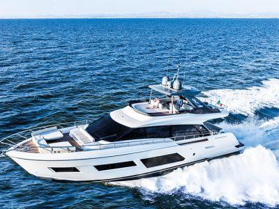 Ferretti Yachts 670, venti metridi felicità