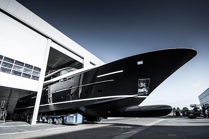 Van der Valk launched its custom superyacht Jangada 2