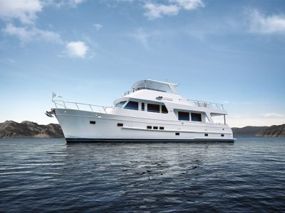 Outer Reef: varato il motoryacht 640 Classic Azure