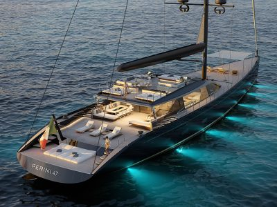 Perini Navi S/Y 47 m, here comes the third unit of the E-volution series