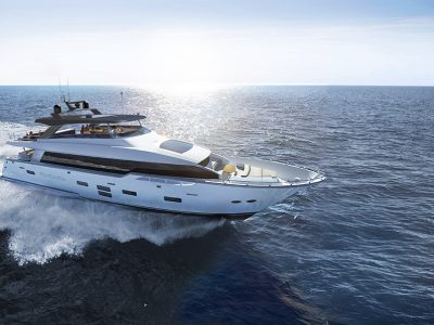 Hatteras Yachts M98 Panacera, space and versatility