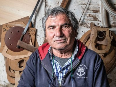 Cantiere De Cesari: the triumph of wood, a material that isalways alive