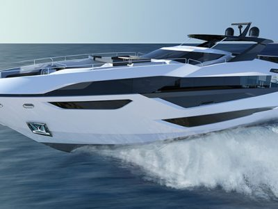 Sunseeker unveils first details and images of new 100 yacht