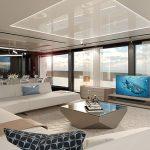 100 yacht Saloon-Saloon