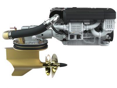 Volvo Penta, nuovo aggiornamento per gli IPS1350
