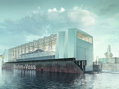 Blohm+Voss: Dock 10 to be converted into covered dock