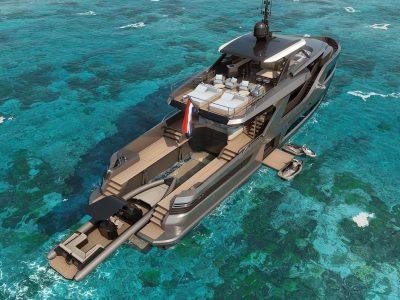 X-Treme Yachts, svelati i disegni del nuovo 105