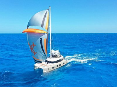 Sunreef 50 Paz, the first Atlantic crossing of the luxury sailing yacht