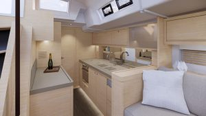 Dufour 61 Galley