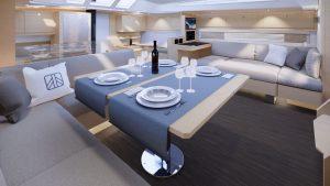 dufour 61 interiors