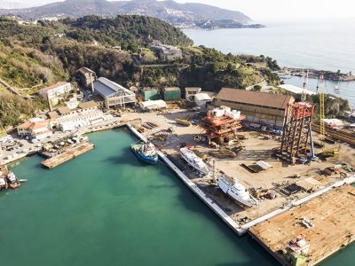 Antonini Navi is born, the ambitious project of the Antonini Group