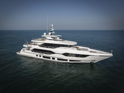 Gulf Craft, prima prova in mare per il tri-deck Majesty 120