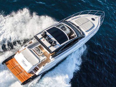 Rio Sport Coupè 56, an italian-stylesports yacht