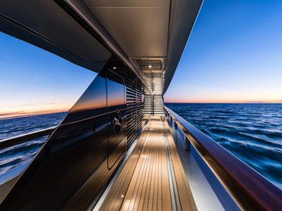 Videoworks sale a bordo del 50m Riva M/Y Race
