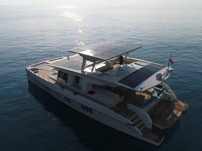 Serenity Solar-Powered Yachts at Virtual Palm Beach International Boat Show