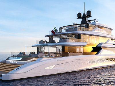 Blanche, la nuova generazione di megayacht firmata Fincantieri Yachts