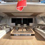 LANA - Main deck aft (copyright Benetti and Imperial)
