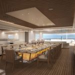 LANA - Sun deck Dining (copyright Benetti and Imperial)