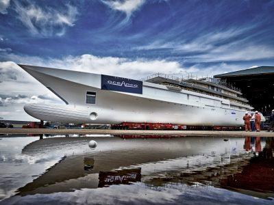 Oceanco: il M/Y di 109m entra in fase di allestimento