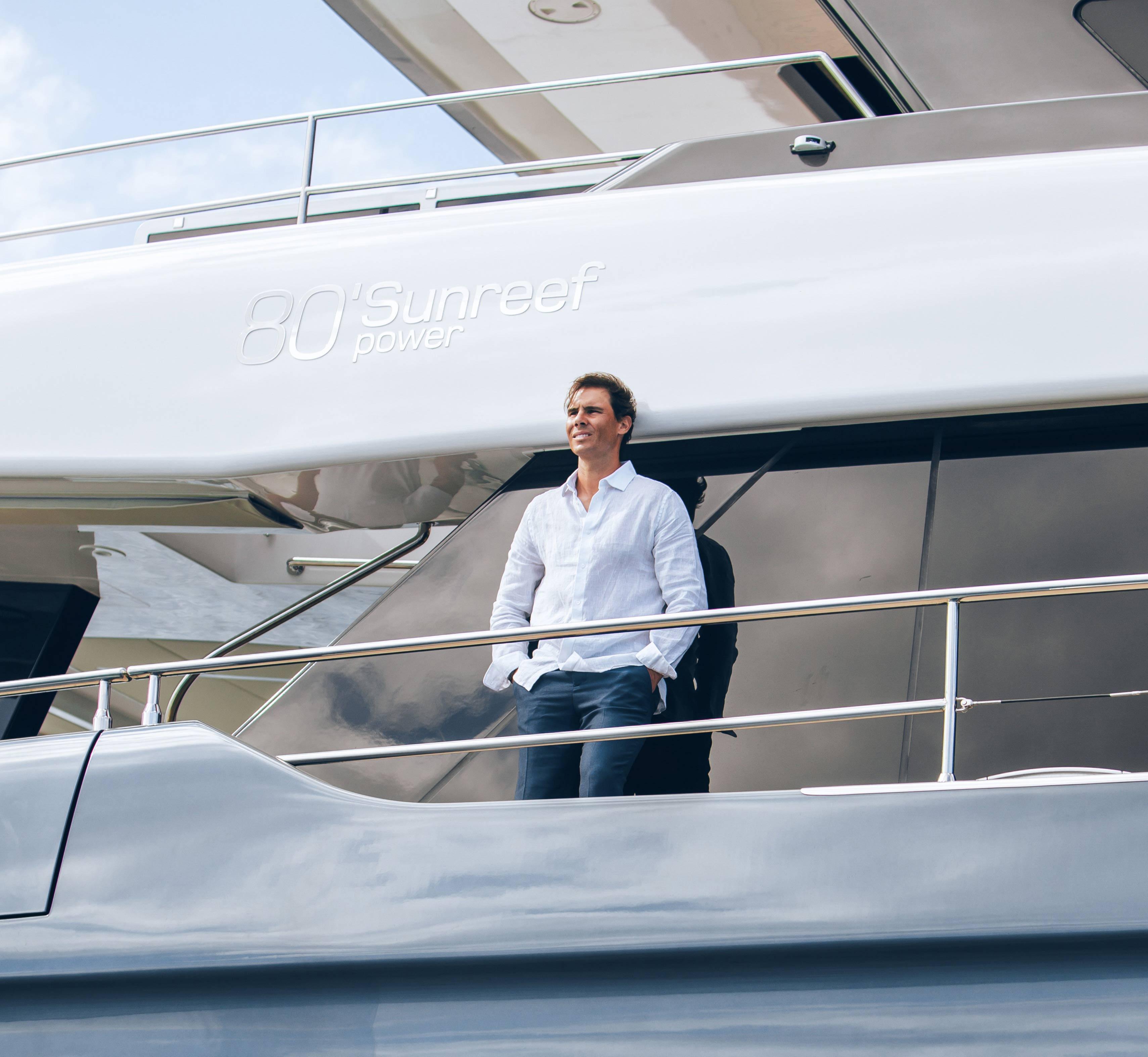80 Sunreef Power With Rafael Nadal On Board Great White