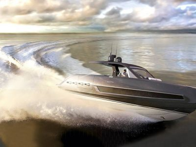 Invictus Yacht, the new TT460 is powered by Volvo Penta