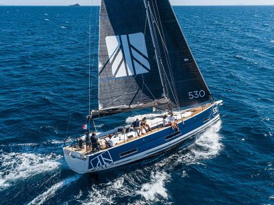 Dufour 530: the sea trial video