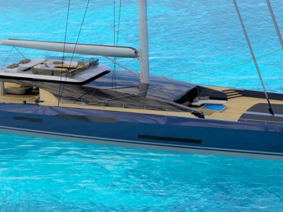 Sunreef Yachts and Malcolm McKeon, here is the Sunreef MM460 Cat