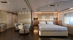 Baglietto 48m T-Line C10233 Owner Cabin Dressing