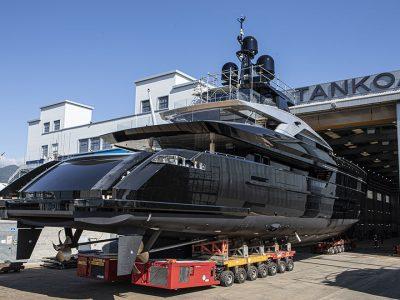 Tankoa Yachts: M/Y Olokun fa il varo tecnico