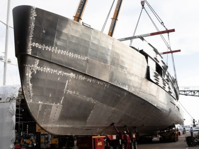 Tankoa Yachts: the third S501 in delivery, the fourth is under construction