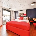 Red Cabin with balcony 2 - Lower Deck