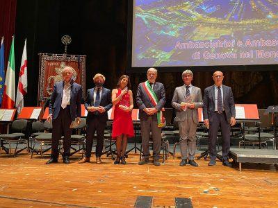 Saverio Cecchi è Ambasciatore di Genova nel Mondo
