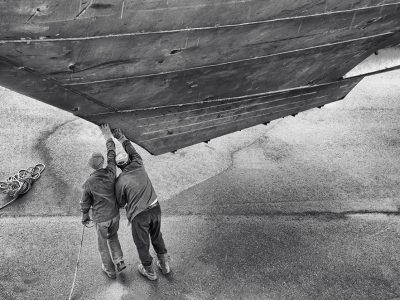 Sanlorenzo con Art Basel: in mostra le foto dedicate al cantiere