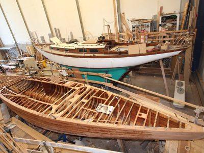 AA Custom: la passione per il restauro delle barche in legno