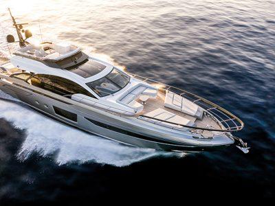 Azimut Yachts S8, muscular, but graceful