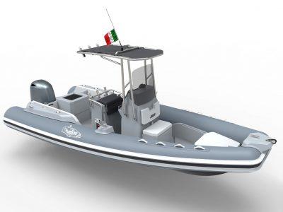 Il Coaster 580 Barracuda si fa in due!