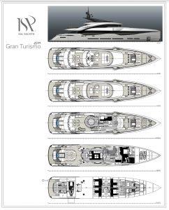 ISA GT 45 metri Isa Yachts
