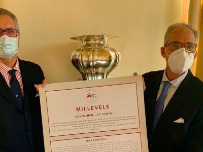 Yacht Club Italiano, un fine benefico per le iscrizioni della Millevele
