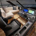 Riviera-5400-Sport-Yacht-Platinum-Edition-Master-Helm-01---Satin-Oak-Timber-Finish