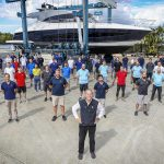 Riviera-launches-Hull-number-100-of-its-5400-Sport-Yacht