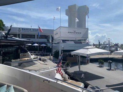 Princess Yachts, great success at FLIBS 2020