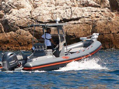 Joker Boat CS580 Barracuda, il testimonial è Mirko Serra