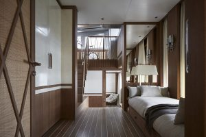Sanlorenzo 44Alloy Main Deck Owner Suite