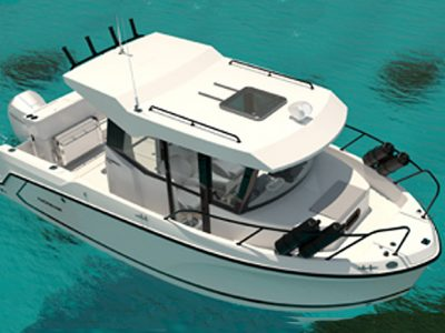 Quicksilver, the new Pilothouse 705 is born