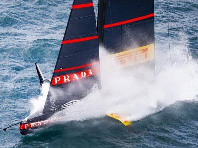 America's Cup: Luna Rossa Prada Pirelli pronta alla sfida della Prada Cup