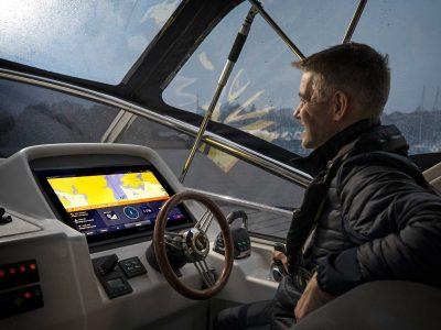Volvo Penta Launches First Fully Integrated Assisted Docking System at CES