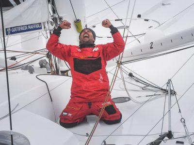 Vendée Globe: il giro del mondo in 80 giorni di Giancarlo Pedote