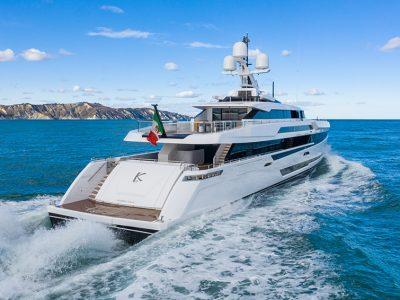 Columbus Yachts, scende in acqua ad Ancona lo Sport 50 M/Y K2