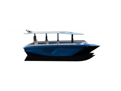 GerrisBoats, an innovative hull platform with mobile elements